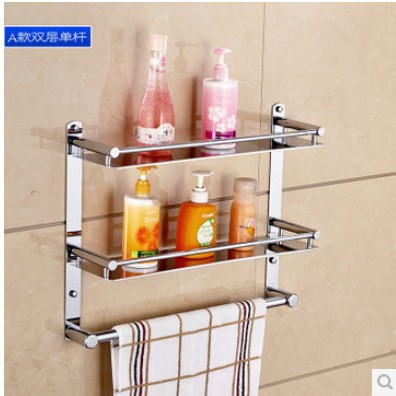 FREE SHIPPING!hot sale bathroom accessories,multifunctional shelf ,stainless steel,towel shelf,towel holder,towel rack towel bar free shipping 304 stainless steel towel rack bathroom rack bathroom shelf folding towel rack bathroom accessories bathroom hook