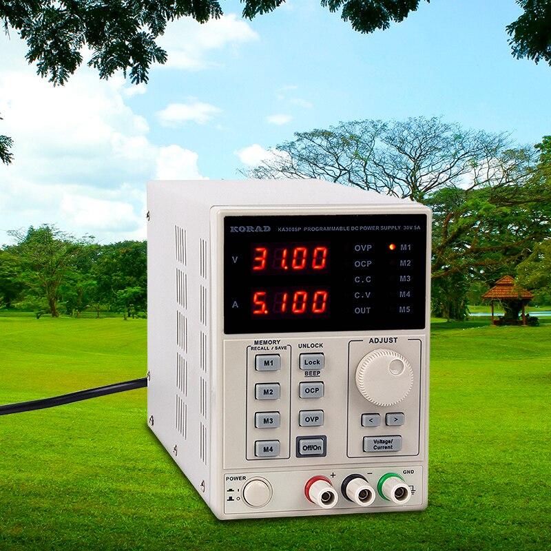 KORAD 30V 10A Adjustable Digital Linear Programmabl Switch DC Power Supply 0.01V 0.001A USB RS232 + DC Maintenance InspectionKORAD 30V 10A Adjustable Digital Linear Programmabl Switch DC Power Supply 0.01V 0.001A USB RS232 + DC Maintenance Inspection