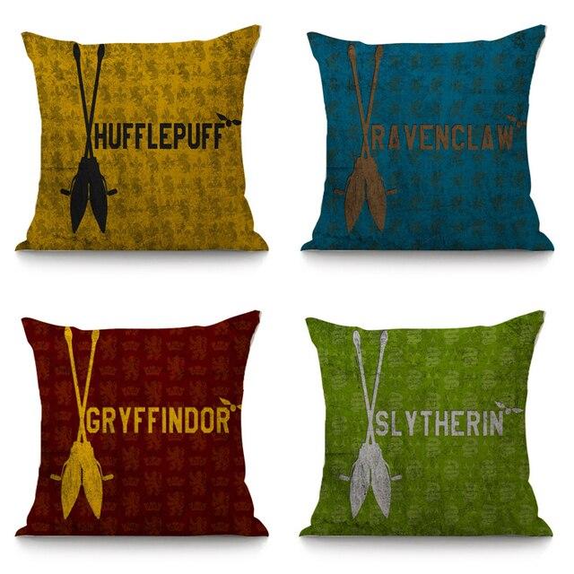 Harry Potter cuscino decorativo di copertura divano della decorazione della casa