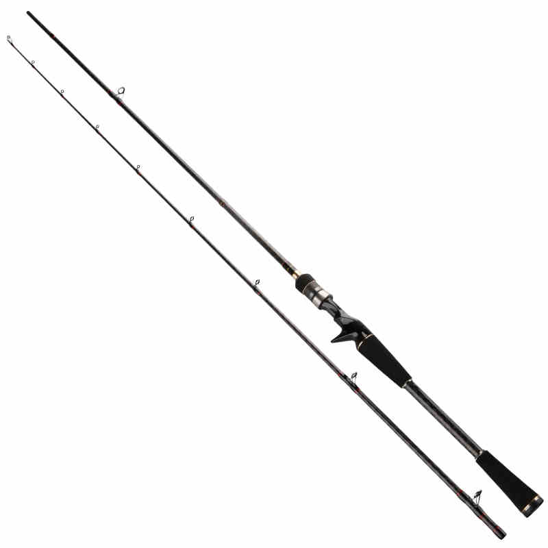Trulinoya 1.98/2.1M Fishing Rod in Carbon Material with Fuji Ring M power Soft Casting Lure Rod MY662MC/702MC Canas de Pesca