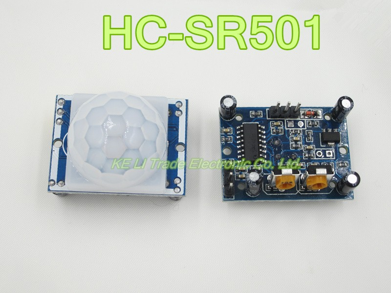 ship world Free Ship 100pcs HC-SR501 HC SR501 NEW Adjust Infrared IR PIR Motion Sensor Detector Module Security Motion HC-SR501 1 pcs x hc sr505 mini infrared pir motion sensor precise infrared detector module new
