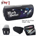 Kuroshitsuji Ciel Phantomhive Pencil Pen Case Wallet  Bag Cosmetic Make Up Bag Storage Pouch
