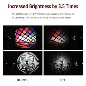 Image 5 - OT1 PRO Focalize Konische Snoots Foto Optische Kondensator Kunst Spezielle Effekte Förmigen Strahl Licht Zylinder für Bowens berg