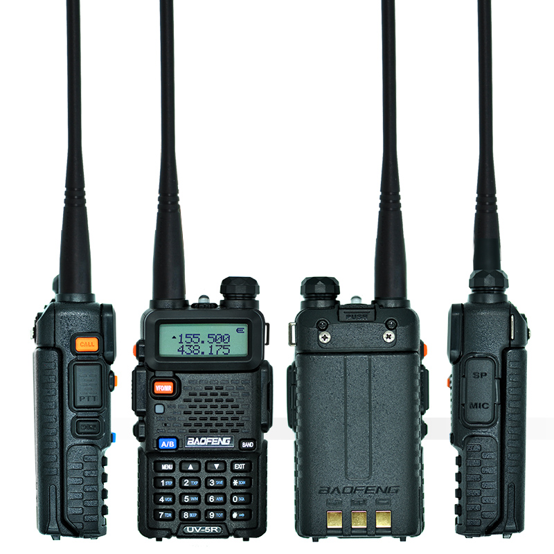 2 st Baofeng UV-5R Walkie Talkie UV5R CB-radiostation 5W 128CH VHF - Walkie talkie - Foto 4