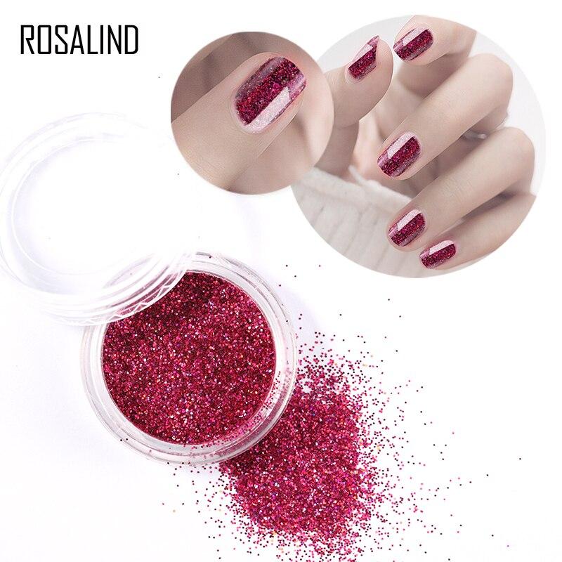 Effizient Rosalind Nagel Glitter Shinning Pigment Glitter 1g Nail Art Benötigt Uv/led Lampe Tränken Weg Von Magie Maniküre Spiegel Dekoration Nägel Feines Handwerk Schönheit & Gesundheit