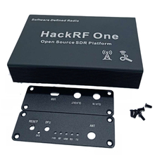 Caja de aluminio negro, carcasa, USB, uso común, para HackRF One
