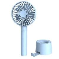 Mini ventilador recarregável usb portátil apropriado para o ventilador pequeno silencioso handheld exterior Vent.     -