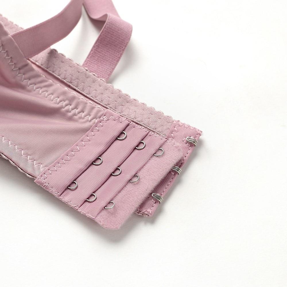 Женский сексуальный комплект нижнего белья, кружевной комплект нижнего белья пуш-ап размера плюс, комплект с бюстгальтером из льна, красный... 33