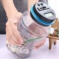 Creativo alcancía de plástico transparente automático de conteo electrónico de recuento de la inteligencia de los niños juguetes de gran tamaño alcancía