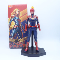 12inch 30cm Crazy Toys Avengers 4 Endgame Super Hero Captain Marvel 1/6 scale PVC Action Figure Collectable Model Toy Doll