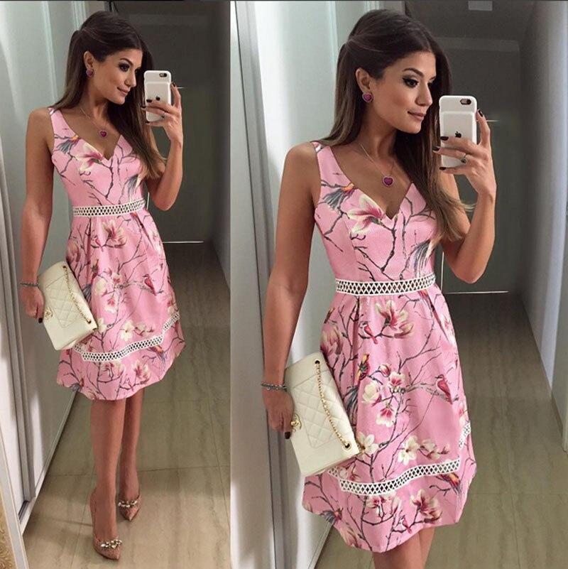 Único Vestidos De Dama De Color Rosa Florales Colección - Ideas de ...