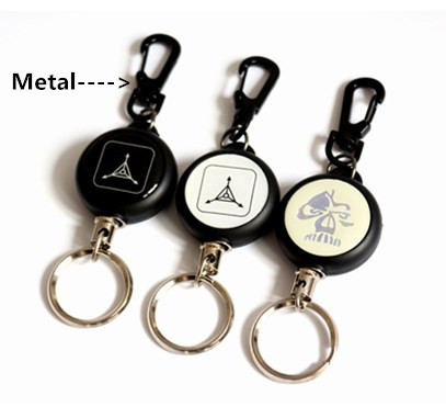 Strength Lanyard and Retractable Badge Reel with Key ring
