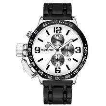 2016 SKONE Luxury Brand Men s Fashion Casual Watches Sport Quartz Watch Men Wristwatches