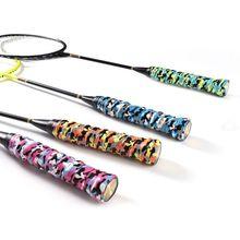 Deportes al aire libre camuflaje raqueta de badminton Tennis agarre Anti-Skid absorbente de sudor cinta sobregrip de pesca Sweatband