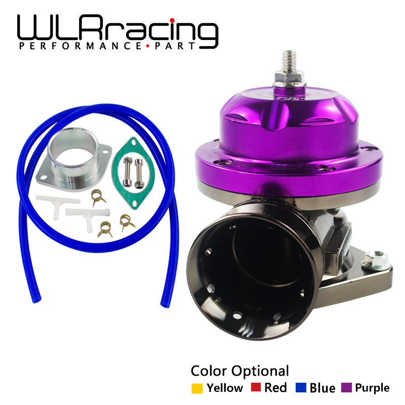 WLR RACING - Universal Type -RS Turbo Blow off Valve Adjustable 25psi BOV Blow dump / Blow off adaptor WLR5763 50mm tial blow off valve universal turbo bov new design spring flange with flange hq blow dump blow off adaptor