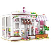 New 673Pcs Girl Series 12007 The University Dormitory Set Building Blocks Bricks Educational Funny Kids Toys architecture toy