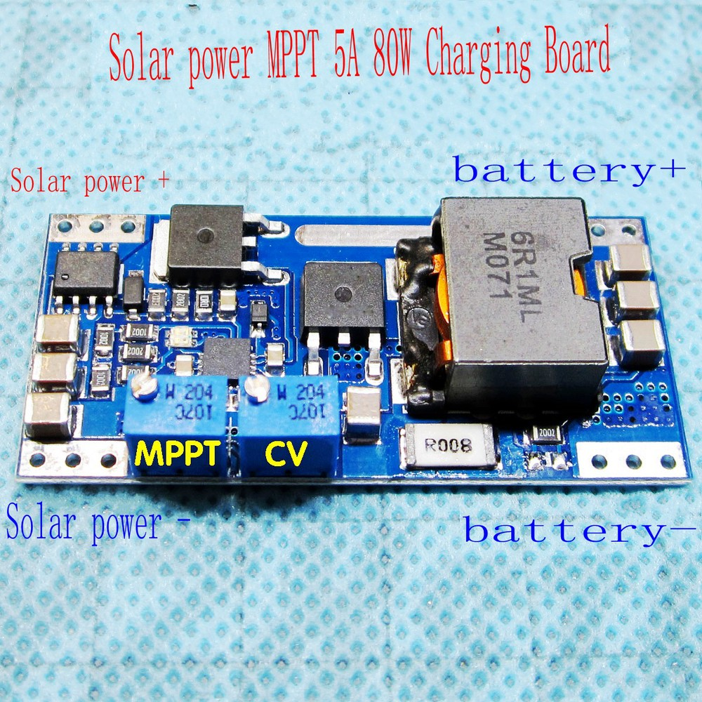 Bq24650 Mppt Solar Panel Lithium Lead Acid Battery Charging Board Ion Charger Powered By Circuit Controller 5a In Controllers From Home Improvement On Alibaba Group