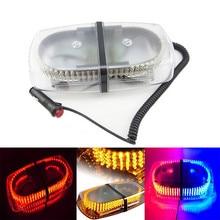DC12V led barra de luces 240 LED Luces de La Policía 20 W Faro de luz con Imanes de Emergencia LED de advertencia Strobe Light bar 8 clolors luz