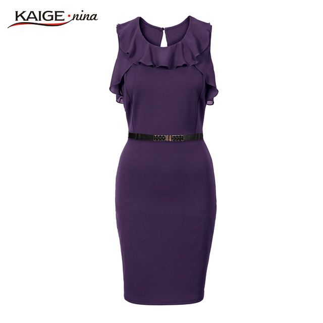2017 Summer Fashion Mini Dress Party Dresses Hot Sale High-quality Harajuku Solid Color Sleeveless Round Neck Tight 1723