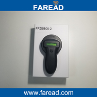 Free Shipping FDX A And FDX B Animal Chip Reader