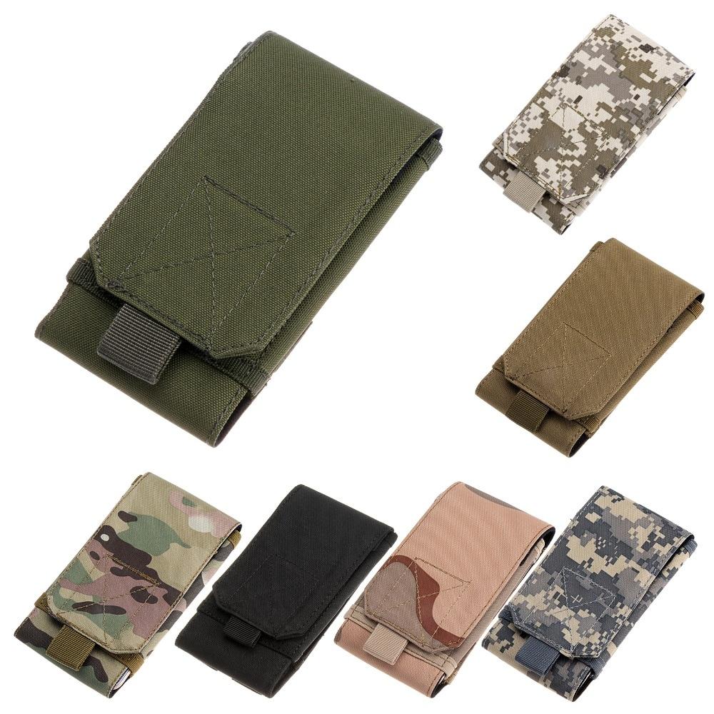 Gaya Tentera Telefon Bimbit Membawa Beg Pocket Pocket untuk Aktiviti Luaran - Pilih 7 Warna