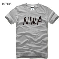 DLVIRA S XXXL N W A Shirt Niggaz Wit Attitudes Letter Print Women Tshirts Cotton Casual