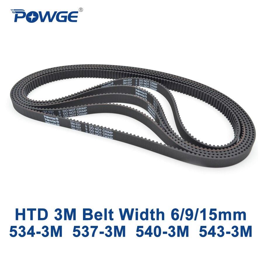 Zahnriemen HTD 15 mm Breit 179 Zähne Timing Belt 537-3M