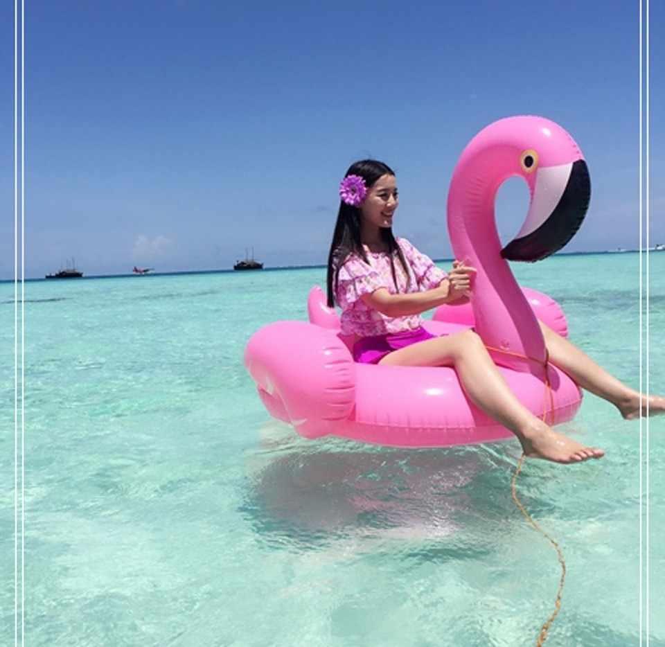 150 см 60 дюймов гигантский надувной фламинго бассейн поплавок розовый кататься на плавании кольцо взрослые дети вода Праздник Вечеринка игрушки Piscina