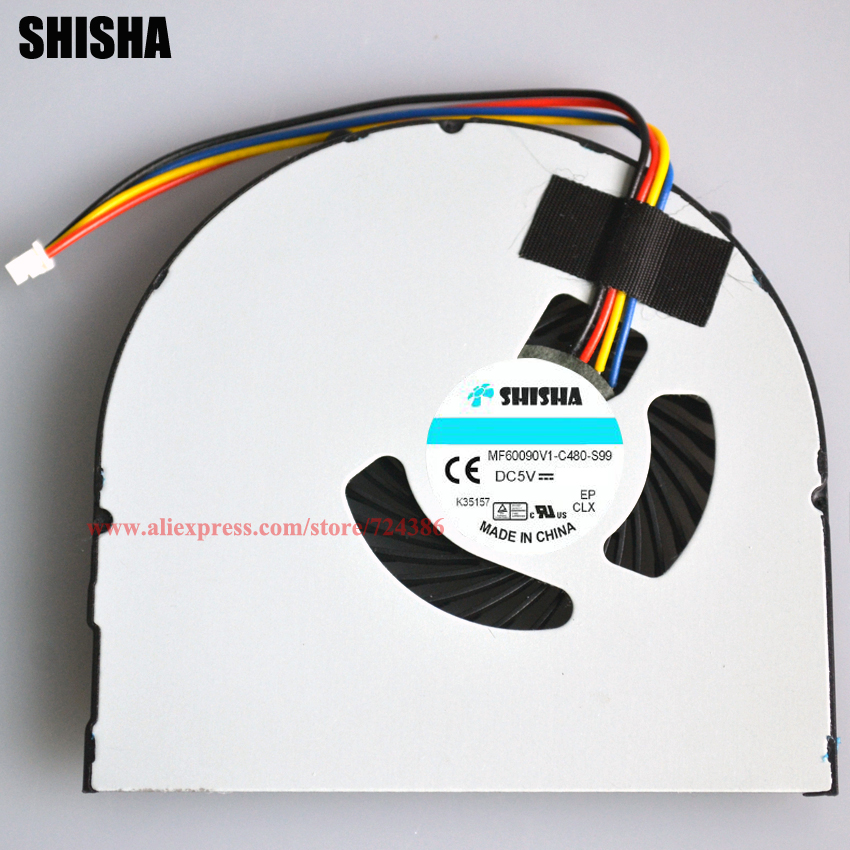 New laptop fan for Lenovo V480 V580 B480 B590 B490 M490 M490 E49 K49 CPU fan NEW genuine B590 V480 laptop cpu cooling fan cooler new laptop cpu cooling fan for samsung dp700a3b 23 aio ba31 00119a