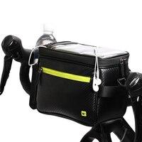 Rhinowalk MTB Bicycle Bike Handlebar Bags frame phone bag Touch screen waterproof front tube shoulder cycling bag