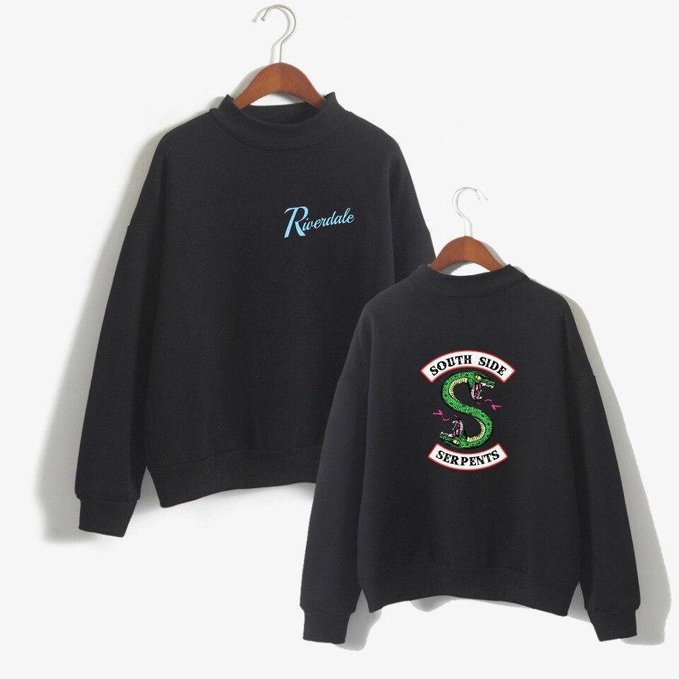 Female Fans 2018 Harajuku big size riverdale hoodie woman/men clothes hood sweatshirt costume fashion