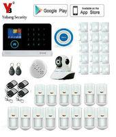 Yobang безопасности WI FI GSM сигнализация Системы GPRS охранной сигнализации приложения Управление двери/окно Сенсор сигнализации дома Системы S