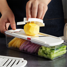 Multi-function kitchen tool supplies a variety of vegetables and fruits, shredded, sliced, grind tools