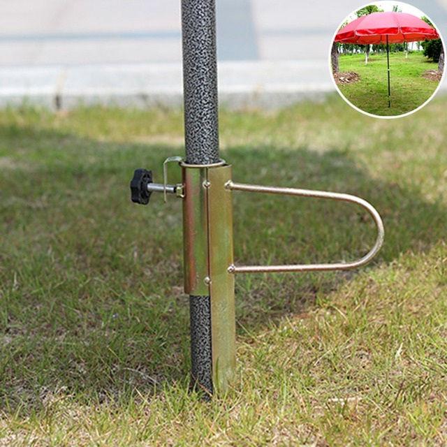 Parasol Garden Umbrella Base Outside Umbrella Stand Parasol Jardin Outdoor  Furniture Iron Patio Umbrellas U0026 Bases