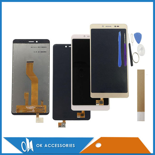 5.45 Inch For BQ BQ-5522 BQ5522 BQ 5522 BQS 5522 Next LCD Display+Touch Screen Digitizer White Black Gold Color With Tools Tape