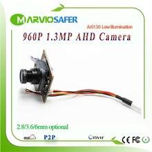 1.3MP 960P HD CCTV AHD-M AHD Camera Module Board with IRCUT and Lens 1200TVL 2400TVL Resolution replace CCD Camera camara
