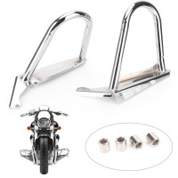 Engine Guard Highway Crash Bar for Suzuki Boulevard M109R 2006 2014 Matte Black & Sliver Motorcycle Accessory Parts