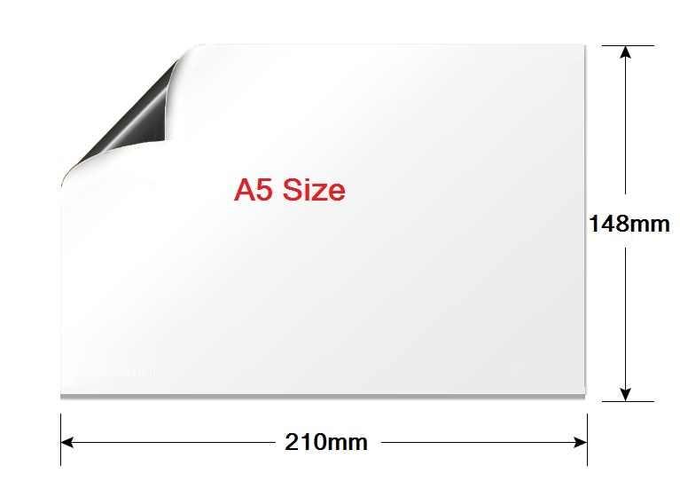A5 Small Vinyl Fridge Magnet Whiteboard Family Office Memo Message Reminder  Notepad Planner Board Magnetic Whiteboard Marker Pen