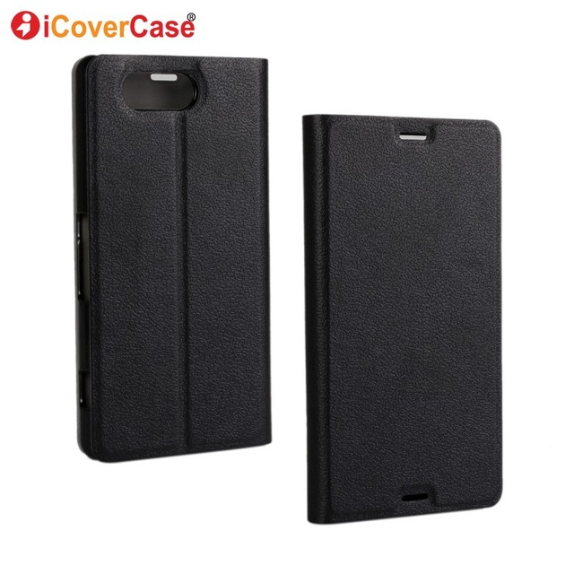 For Sony Xperia Z3 Compact Case Flip Cover for Sony Z3 Compact Coque D5803 D5833 Wallet Ultrathin Leather Covers Funda Capa Etui