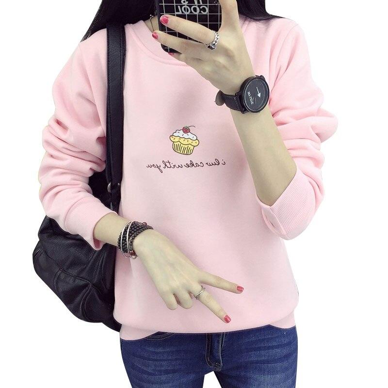 Sudadera Mujer Harajuku helado Cachemira con capucha