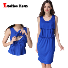MamaLove New Style Maternity Clothes Dresses Nursing clothes Breastfeeding for Pregnant Women pregnant Dress