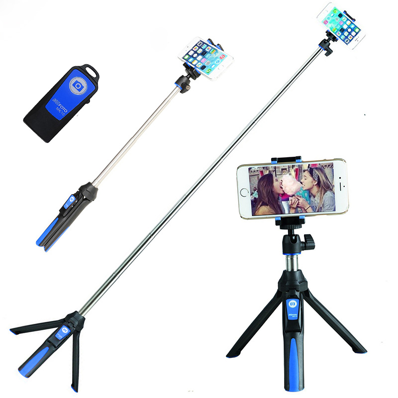 Ulanzi Handheld & Tripod Combo Selfie Stick with Bluetooth Remote & GoPro Exclusive Adapter  For iPhone 7 Sumsang Galary Huawei sc1 carbon fiber smartphone tripod handheld mini phone action camera gopro selfie stick wireless bluetooth remote shutter