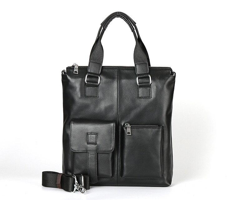 100% Genuine Leather Bag Business Men Bags Tote Briefcases Bags Shoulder Handbag Men's Messenger Bag