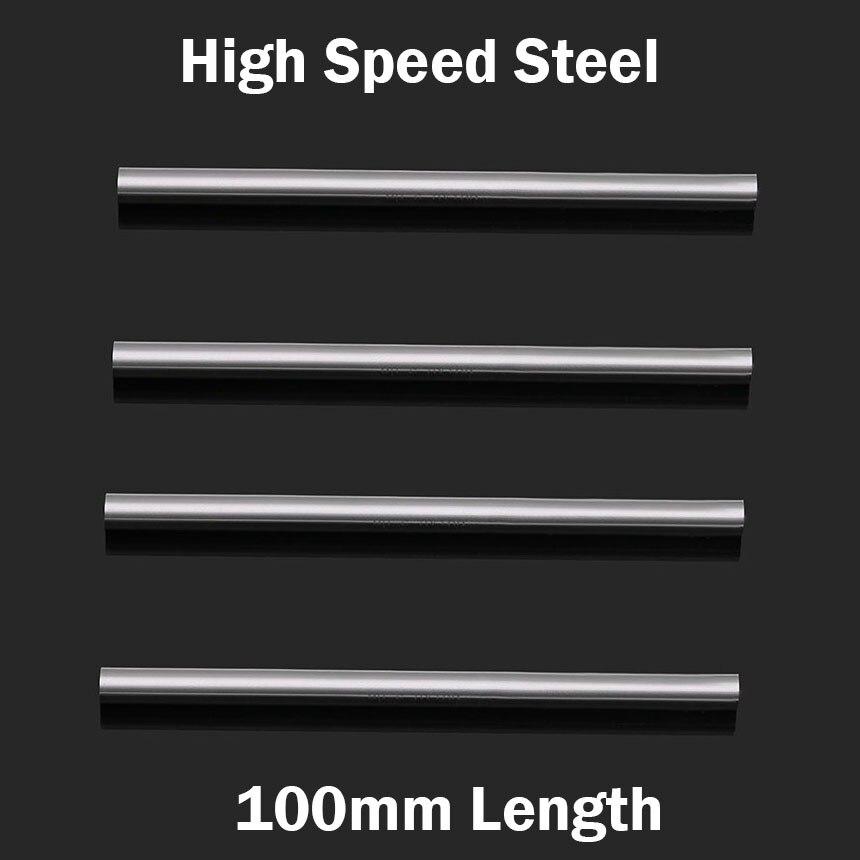 1mm 1.5mm 2mm 2.5mm 3mm OD 100mm Longueur High Speed Steel HSS Jobber Drill peu Ennuyeux Ronde CNC CuttingTurning Tour Outil Bar Tige