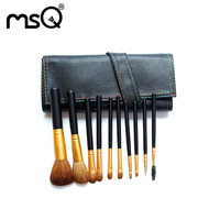 Makeup Brushes Foundation Eye Shadow Brush For Make Up 12 PCs Black Handle Grass Pipe Brush