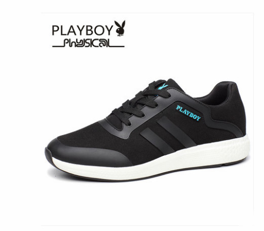 Playboy mens shoes autumn new mens sports shoes trend students Korean shoes fashion running shoesPlayboy mens shoes autumn new mens sports shoes trend students Korean shoes fashion running shoes