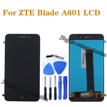 5.0 100% new Display for ZTE blade A601 BA601 LCD + touch screen digitizer components mobile phone repair accessories elevator display km713550g01 lift components 713553h04 km713550g01 escalator 713553h04 km713550g01