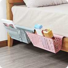 Metal Storage Baskets Bed Shelf Hanging Bins Dormitory Students Rack Home Bunk Iron Basket