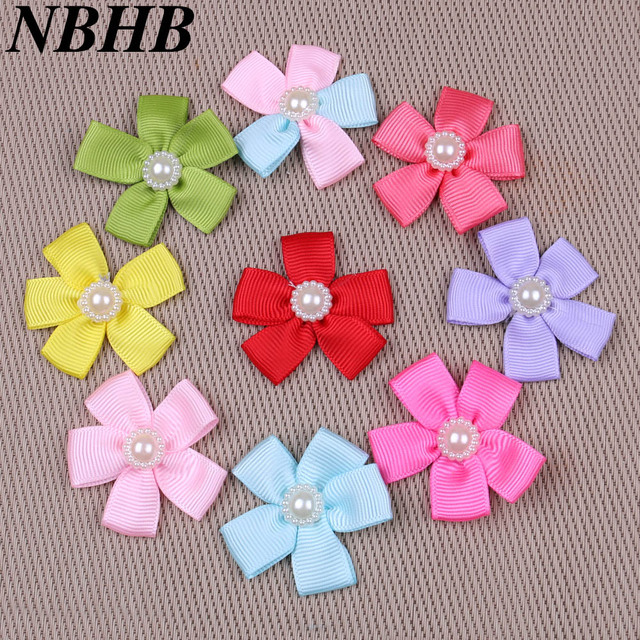 Nbhb 50pcs Lot Handmade Diy Butterfly Tie Satin Ribbon Gift Package