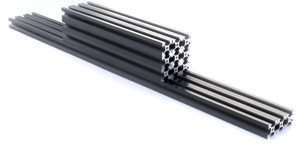 Funssor 2020 extrusion d'aluminium pour imprimante 3D Kossel & Kossel XL RepRap Delta rostock
